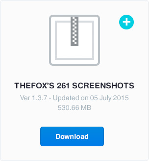 free download 261 screenshots to preview - thefox psd template