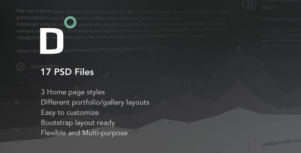 Direct Multi-purpose PSD Theme