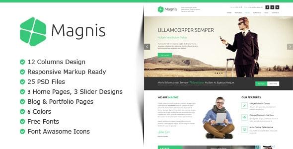 Magnis - Multipurpose PSD Template