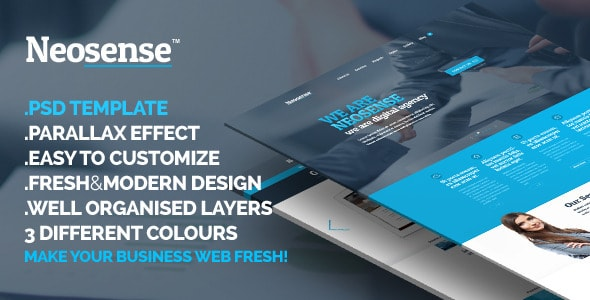 Neosense - Fresh Corporate Creative Template