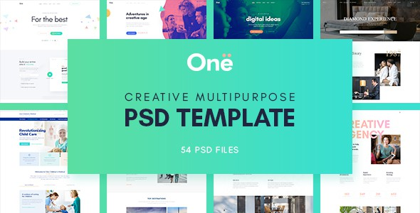 Onne - Creative & Clean Multipurpose Template