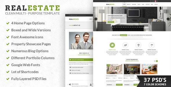 RealEstate| PSD