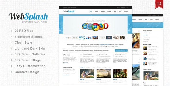 Web Splash
