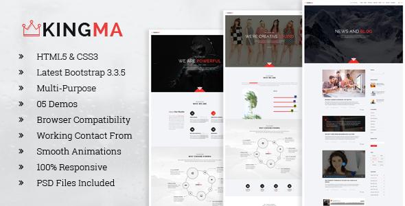 CAM | Minimal MultiPurpose PSD Template - 1