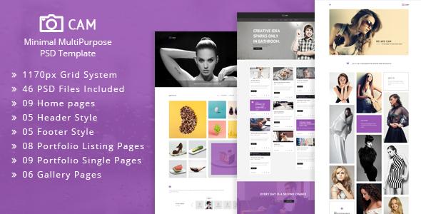 Oval - Creative OnePage PSD Template - 7