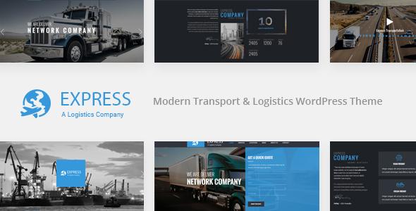 EXPRESS – Modern Transport & Logistics WordPress Theme