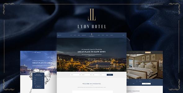 LYON – Luxury Hotel Booking HTML5 Template