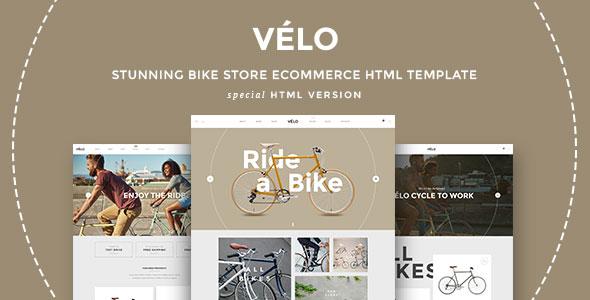 VELO – Bike Store Responsive HTML5 Template