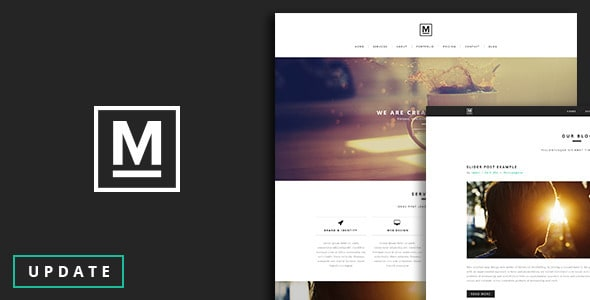 Max - One Page Template
