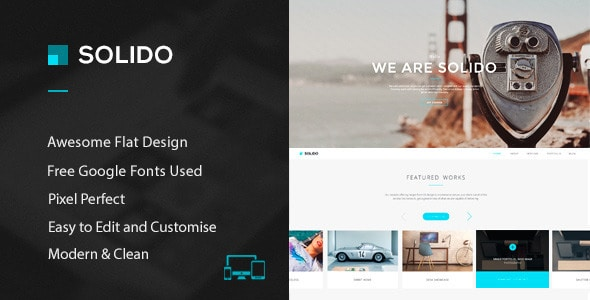 Solido - PSD Template