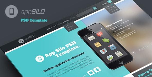 App Silo - PSD Template