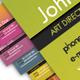 Elegant Color Mix Business Cards - GraphicRiver Item for Sale