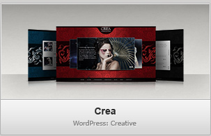 Crea WP – Creative / Portfolio WordPress Theme