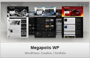 Megapolis WP – Creative / Portfolio WordPress Theme