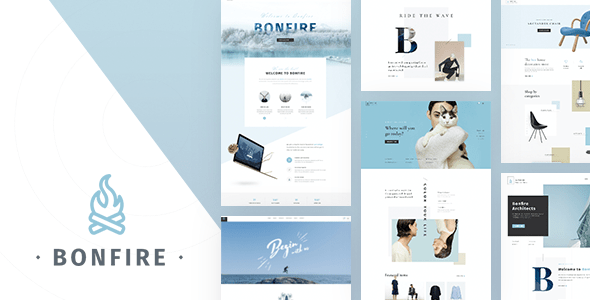 Bonfire - Creative Multi-Purpose PSD Template