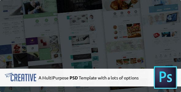 Creative - Multipurpose PSD Template