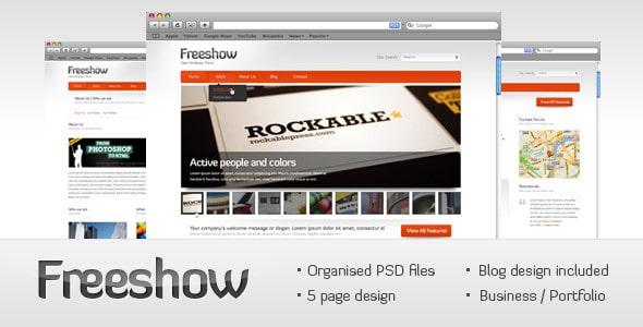 Freeshow - business/portfolio