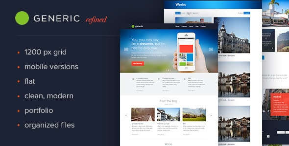 Generic Multipurpose Template
