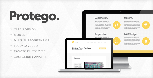 Protego - PSD Templates