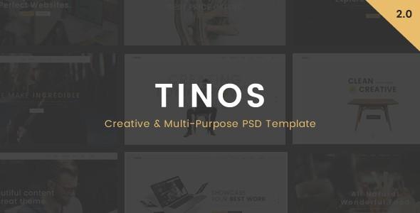 Tinos - Multi-Purpose PSD Template