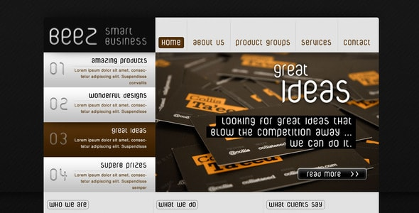 BEEZ - smart business website template