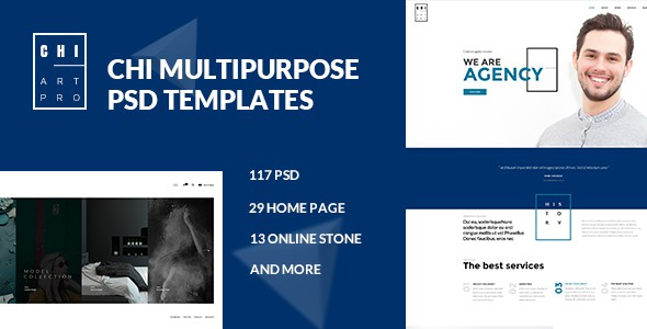 CHI - Multipurpose PSD Template