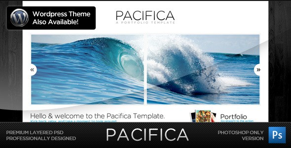 Pacifica Theme - The PSD Version