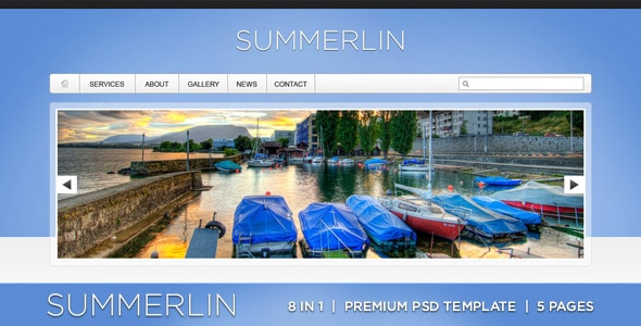 Summerlin - 8 in 1 - Premium PSD Template