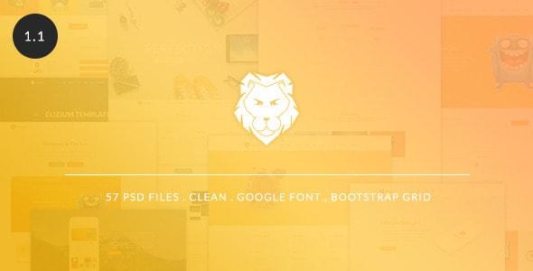The Lion - Multi-Purpose PSD Template
