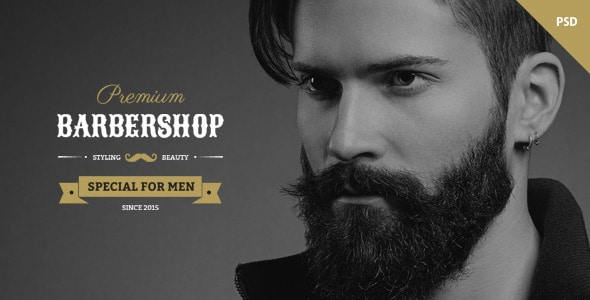 Barbershop - One Page Multipurpose Barbers Theme