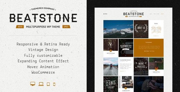 BeatStone | Creative PSD Theme