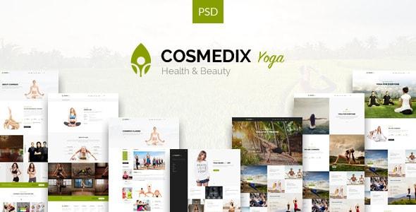 Cosmedix - PSD Template