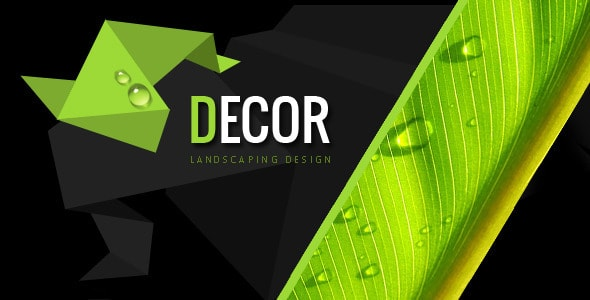 Decor - Creative PSD Template