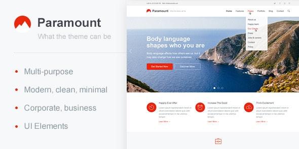Paramount — Multi-Purpose Template
