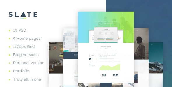 Slate - A Real Multipurpose Corporate Template