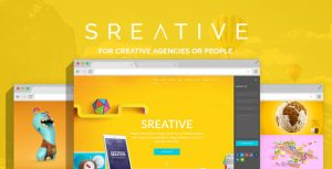 Sreative   Digital Agency PSD Theme