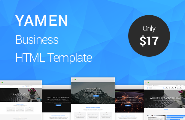 YAMEN Business HTML Template