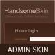 Handsome Admin Skin - ThemeForest Item for Sale