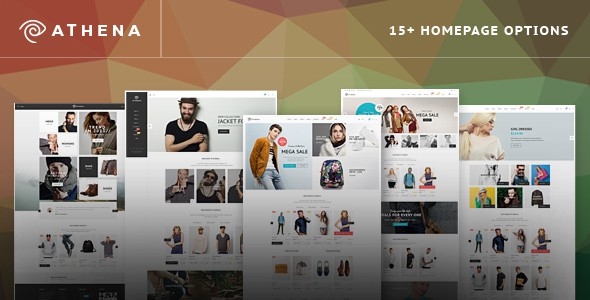 Athena - Fashion eCommerce PSD Template