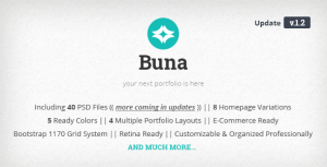 Buna - Your Next Agency/Portfolio Template