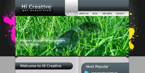 Hi Creative Portfolio Site