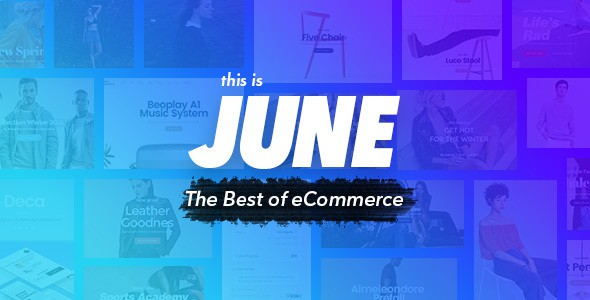 June - Multi-Purpose eCommerce Template