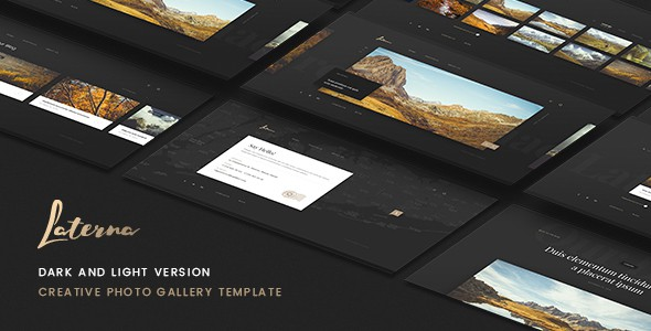 Laterna - Creative Photo Gallery Template