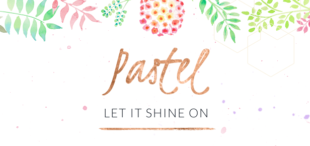 Pastel WaterColor Retro theme