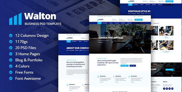 Walton Business & Corporate Template