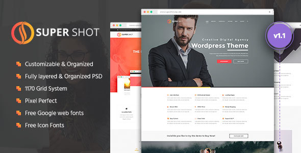 Urim | Creative Multipurpose PSD Template - 4