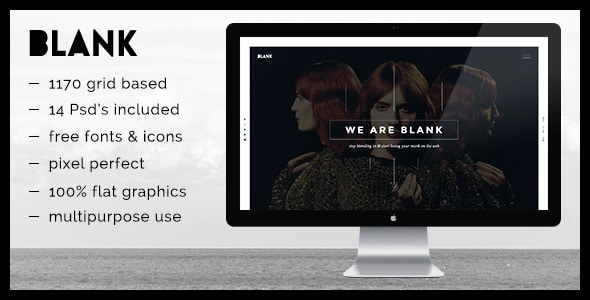 Blank - PSD template