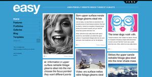 easy - PSD Website Template
