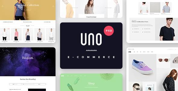 UNO - A Multipurpose Shop PSD Template