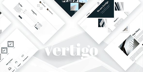 Vertigo - Creative Theme for Agencies & Companies